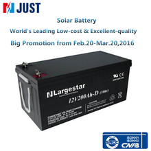 RECHARGEABLE VRLA DEEP CYCLE GEL SOLAR BATTERY 12V 200AH