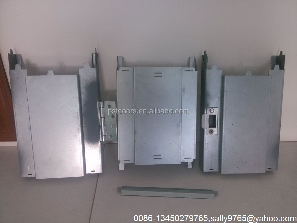 knock down packing steel door frame,galvanized steel door jamb