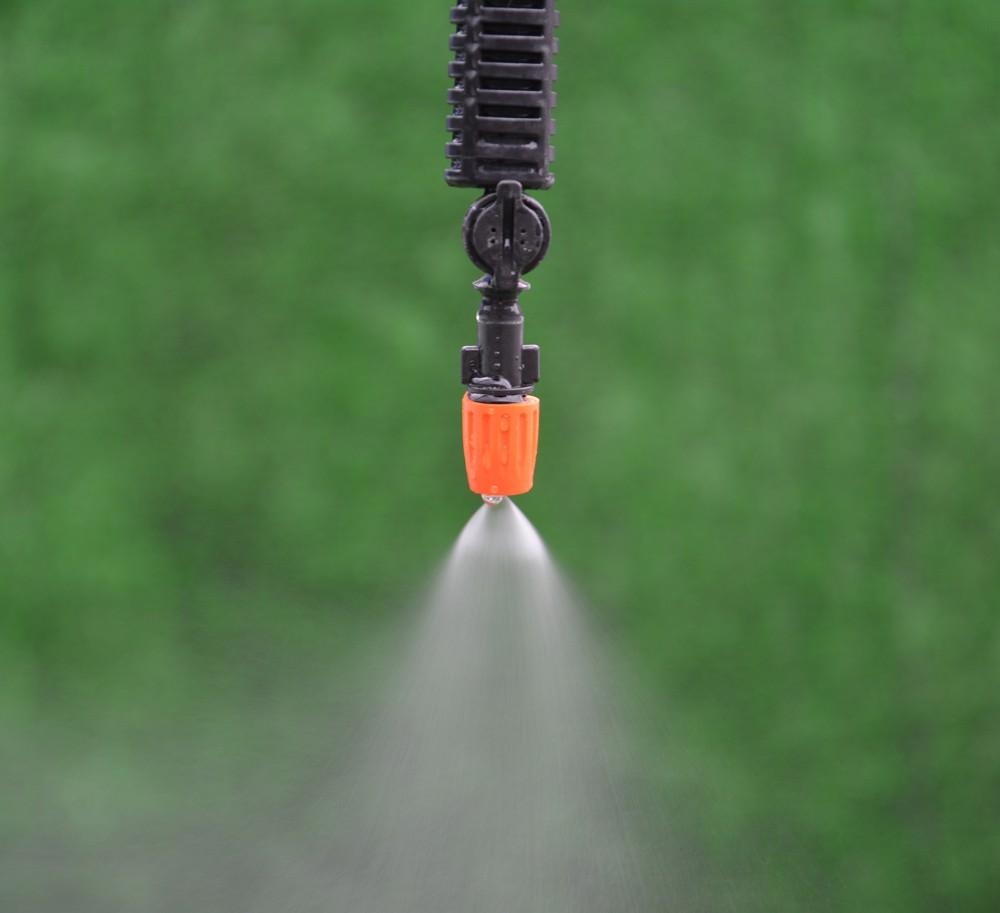 Caliente ajustable pl stico niebla nebulizador de agua pulverizador boquilla aspersores de - Bordillos de plastico para jardin ...