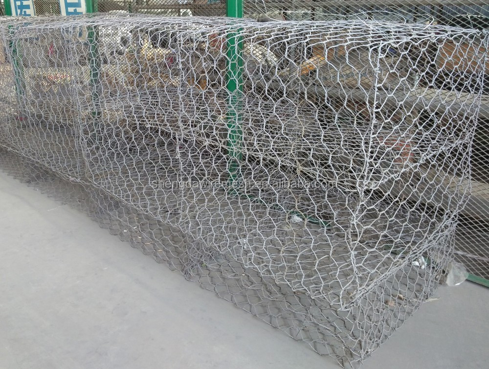 ISO9001Wholesale pvc coated /hot dipped welded gabion box/stone cages/gabion retaining wall
