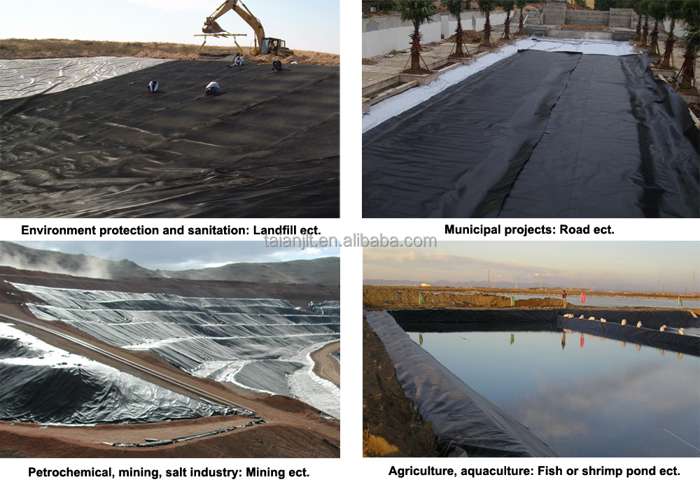 20 Mil Ldpe Liner : Ldpe hdpe ponds liner sheet waterproof geomembrane for