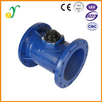 LXLC-300E horizontal brass cast iron bulk flow digital water meter