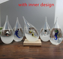hot selling hand blown storm glass