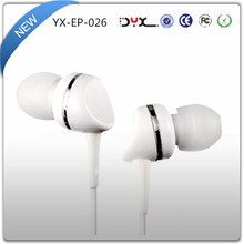 Cheap customized logo promotion earphone & earbud free sample with CE and RHOS certificate