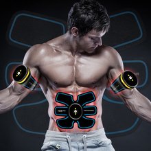 EMS fitness muscle trainer Electronic Muscle Training Belt AB Abdominal Stimulation Toning Massager
