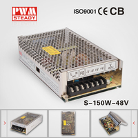 15V 10A AC DC SMPS 150W Constant Voltage Led Lights Driver 15V 10A Switching Power Supply S-150-15