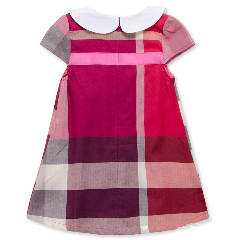 Plaid vintage baby m dchen neuesten kinder baumwolle for Vintage kleider kinder