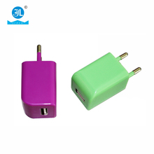 Hot selling Cream wall charger USB Port micro wall charger