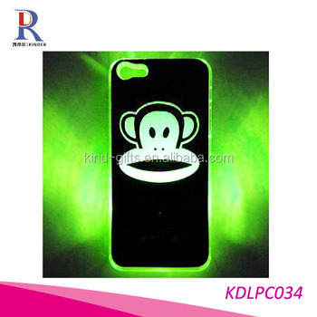 Flash Light LED Color Changing Hard Plastic Case Skin Cover for iPhone 5