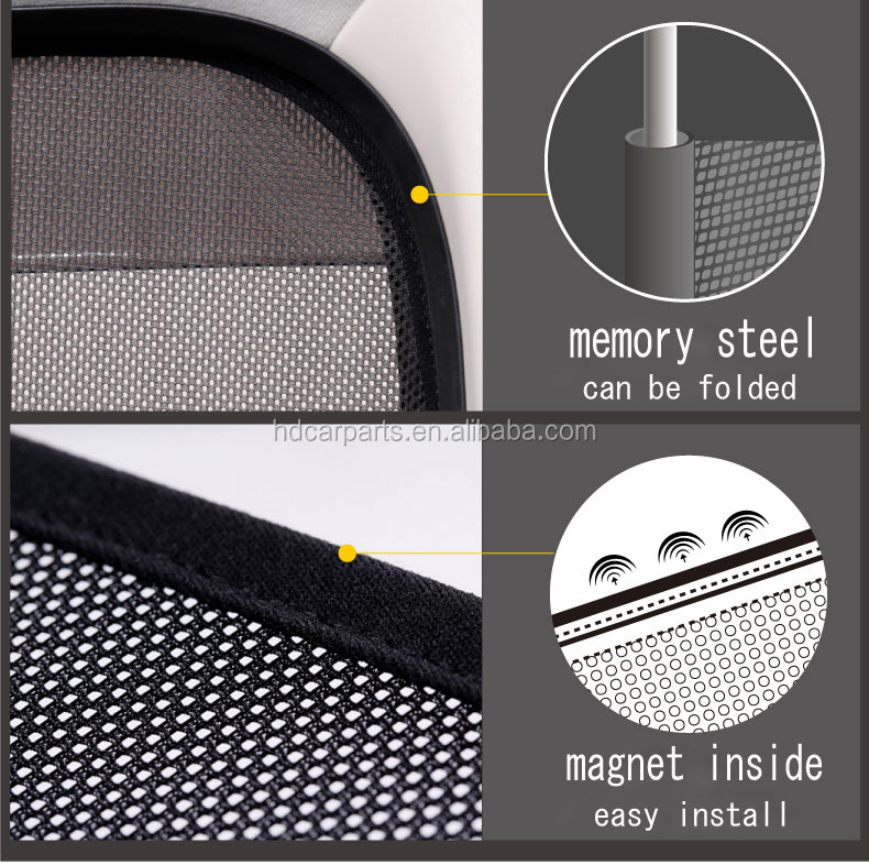 2017 the customize car magnet sunshade,curtain for BM W 320LI