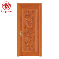 Bamboo pattern series one pool board Indonesian style solid wood door