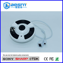 2.0MP 360 degree fisheye ip camera 2.5mm lens panoramic camera 1080p BS-IP360TL