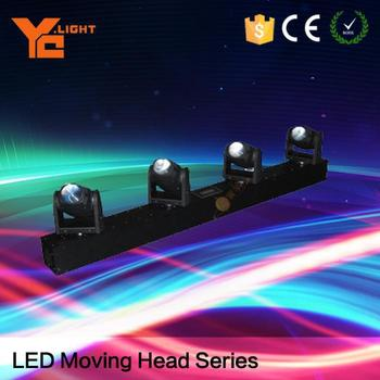 Professional Equipment Maker 4x10w 9/28CH Led Beam Moving Bar