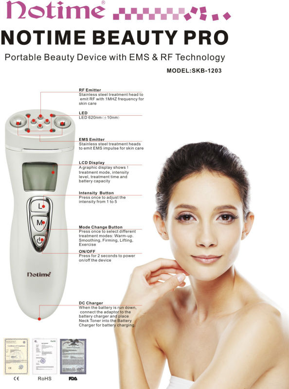 at-home use beauty facial massager