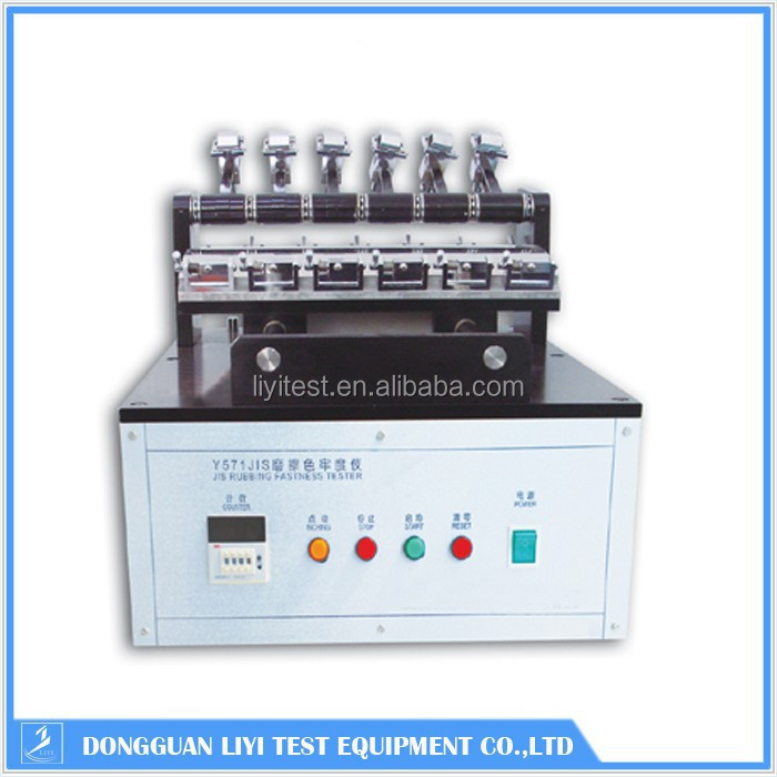 Color coefficient of friction tester