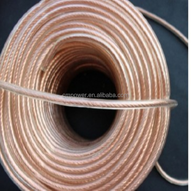 Series specification insulated braided copper wire flat