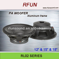 12 -18 inch RCF 4inch high quality Subwoofer