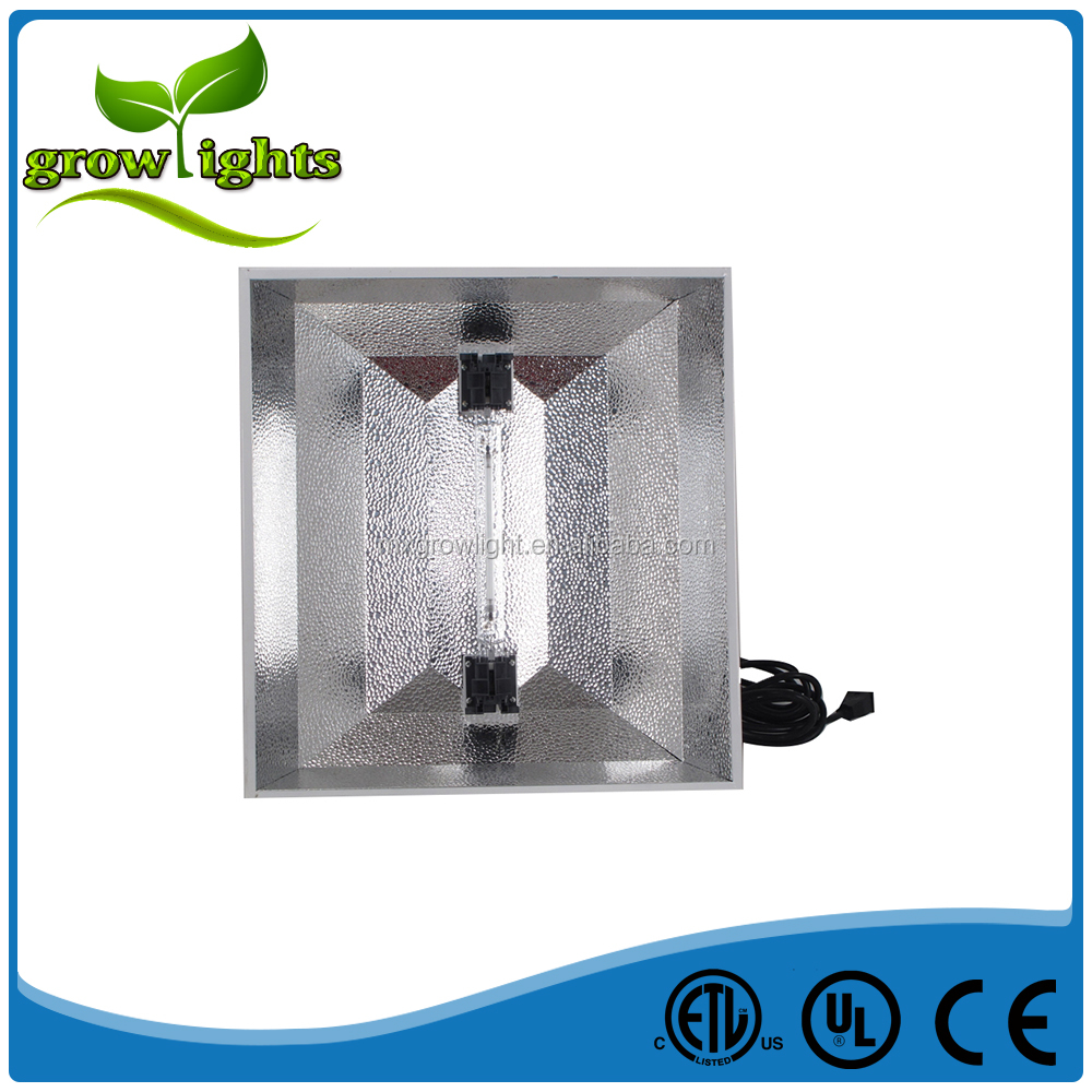 Hydroponics greenhouse plant DE grow reflector grow light double ended reflector