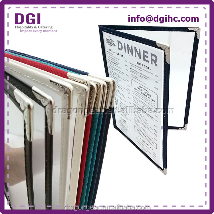 mobile catering western leather notebook with binder many material options