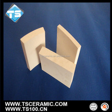 Acid Proof 92% 95% Alumina Ceramic Tiles for Ball Mill Inner Lining