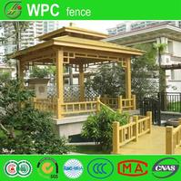New pvc vinyl fence wood plastic composite wall panel