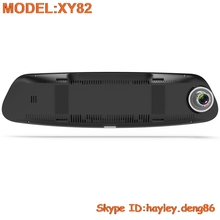 3G/4G Voice control HD 1080p car camera rearview mirror DVR recorder with wifi,GPS navigation and gps tracker