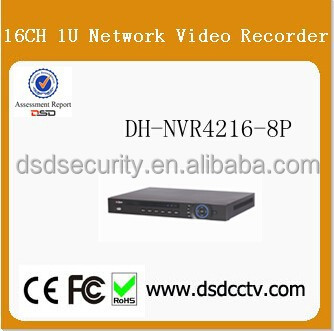 8PoE ports dahua 1U NVR DH-NVR4216-8P support both English and Russian language
