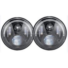 "2x 7"" Inch LED Headlight angel eye Halo Ring For JK TJ LJ with ring"