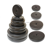 Cement weight plates