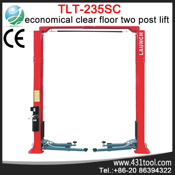 TLT235SC 2 post car lift LAUNCH 2 column car lift 3.5 ton car lift