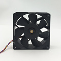 High speed 12cm 12038 4PIN PWM cooling fan for miner