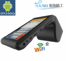 "Handheld pos terminal TS-7002 with 7"" android tablet download google play store parking payment machine"