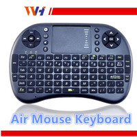 Hot Sale Back Lit 2.4 GHZ Wireless Touchpad Qwerty Keyboard Air Mouse Gaming Keyboard