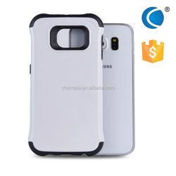 Slim fit tpu& pc case for samsung galaxy cover for samsung s6 case leather flip case for samsung galaxy note 2