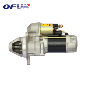 OFUN Best Quality Electric 24V 6Kw Excavator Engine Starter