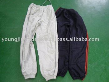 Used clothing, Adult's Nylon Parka Pants