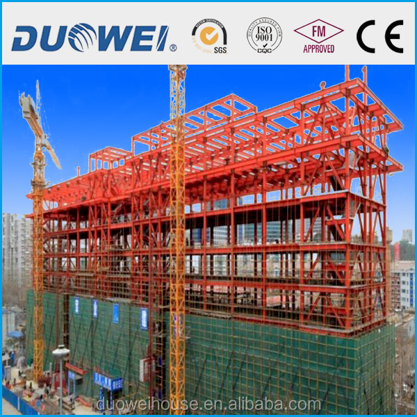 steel structure workshop and plant