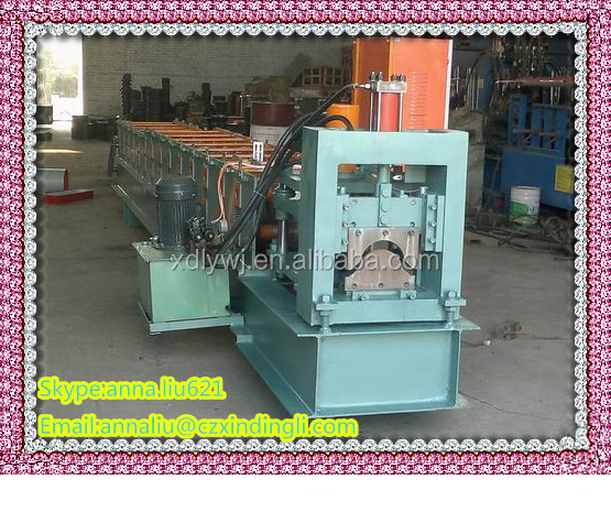 Colored Steel Ridge Cap/Tile Rolling Forming Machine Construction Manufacturer