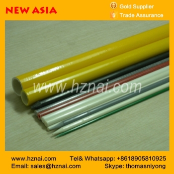 Colorful solid Fiberglass Rod for vineyard support rods with UV resistant and Fiberglass Stakes