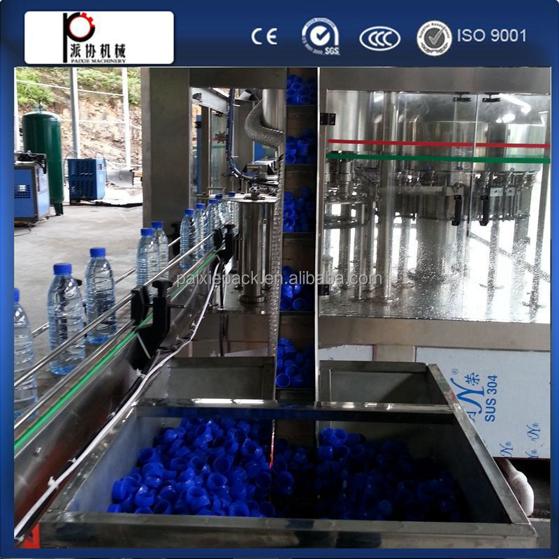 Shanghai factory water bottling filling machine distilled water machine usa with linear type in China