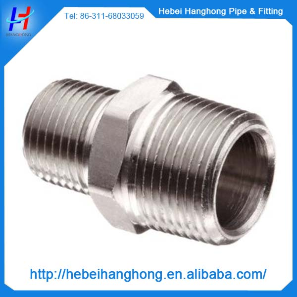 4 inch ASME B16.11 stainless steel pipeline nipple concentric reducer couplings