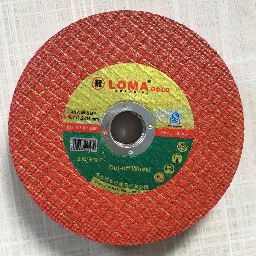 abrasive wheel and cutting off wheel disc
