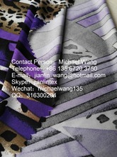 Jishengxiang Knit Drop Needle Jacquard Four Way Stretch Printed High Quality Striped Fabric
