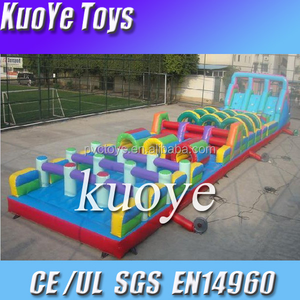 chinese inflatables obstacle new product of obstacle tunnel