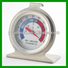 Dail face round bimetal freezer/fridge thermometer