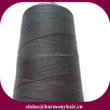 hair thread for weaving/hair weaving thread/hair sewing thread