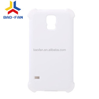 Newest design 3D sublimation silicone phone case for galaxy S5