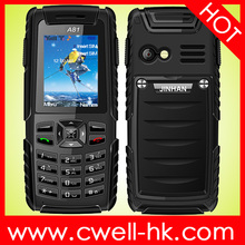JINHAN A81 IP67 Wateproof military mobile phone with Outdoor Tools like Air Pressure, Altitude, Relative Height, E-Compass