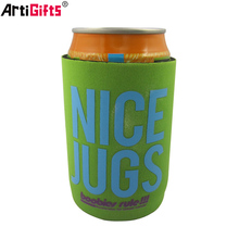 Wholesale custom promotion cheap neoprene can cooler for beer
