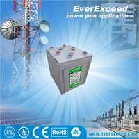 EverExceed high quality 2v 200ah deep cycle agm battery , VRIA Battery